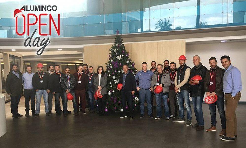 ALUMINCO: Ο θεσμός των «Open Days» συνεχίζεται δυναμικά