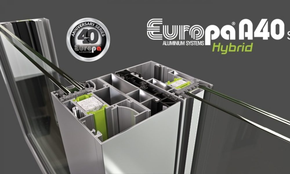 EUROPA: Νέο συρόμενο Hybrid A40 SL με κορυφαία θερμομονωτικά χαρακτηριστικά