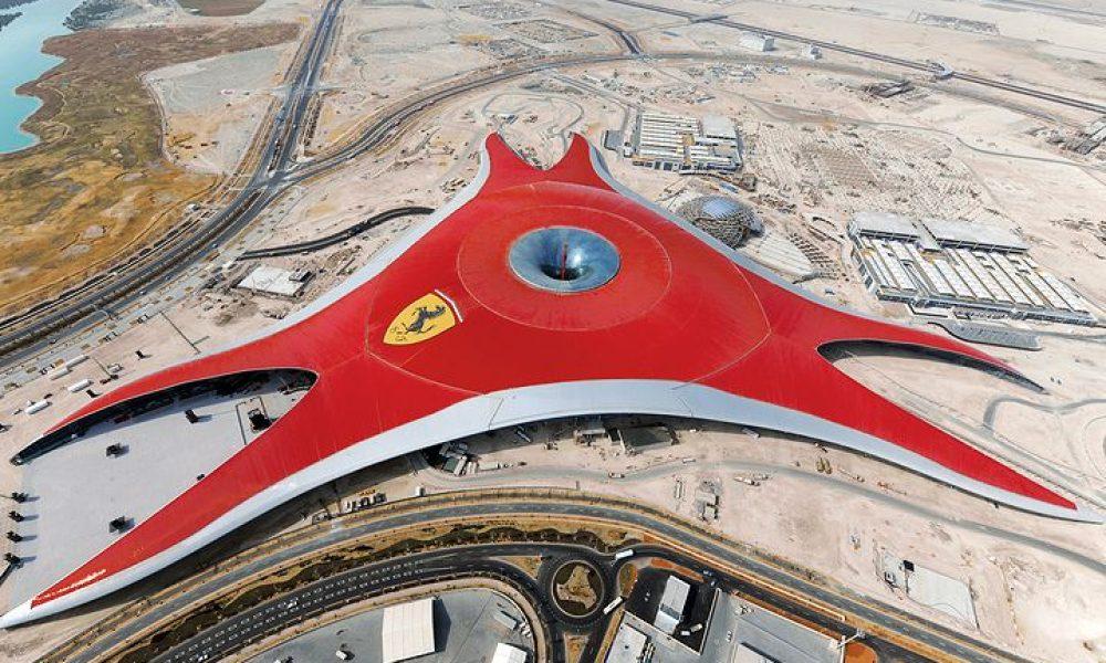Το μεγαλύτερο στέγαστρο αλουμινίου στον κόσμο στο «Ferrari World» του Άμπου Ντάμπι